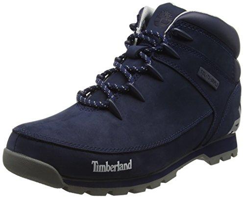 Botines Blue Timberland Azul para Iris Eurosprint Hiker Black Hombre w1YB1Ex