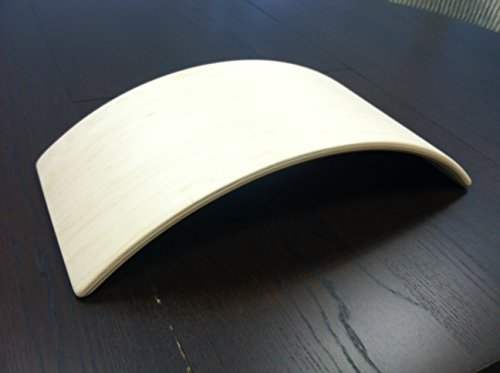 Upper Back Bolster(ubb): Wooden Pillow for Spinal Health and Back (Empress Natural Wood)