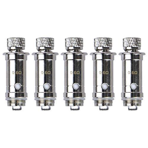Lost Vape Lyra Mesh Coils (0,6 Ohm), DL Verdampferköpfe für e-Zigarette, 5 Stück