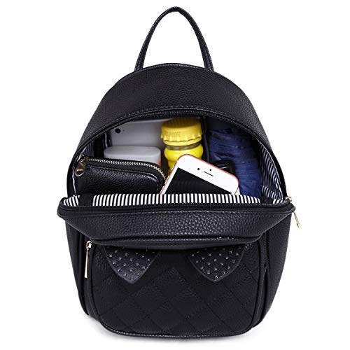 00a4431e3d Girls Rabbit Ear Cute Mini Leather Backpack