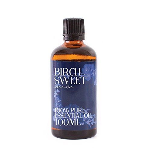 Mystic Moments | Birch Sweet Essential Oil - 100ml - 100% Pure (White Birch Essential Oil)