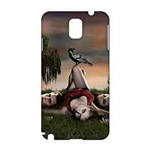 Angl 3D vampire diaries Phone For Iphone 5/5S Case Cover