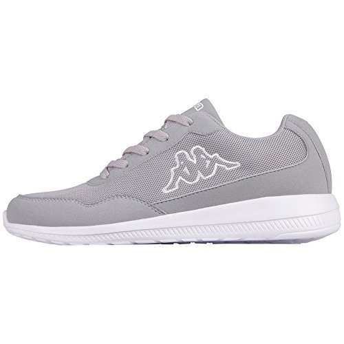 Baskets Lime Adulte 1410 Mixte Kappa Apollo Grau L´grey qCw0H5HO