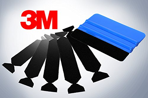 - 3M Hand Applicator Squeegee PA1-B With 5x Removeable Felt Tips