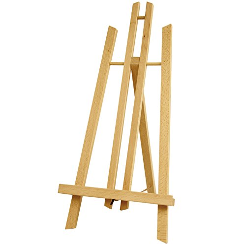 US Art Supply 18'' Large Tabletop Display A-Frame Artist Easel (1-Pack) by US Art Supply