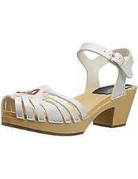 swedish hasbeens Women's Huarache High Platform Sandal
