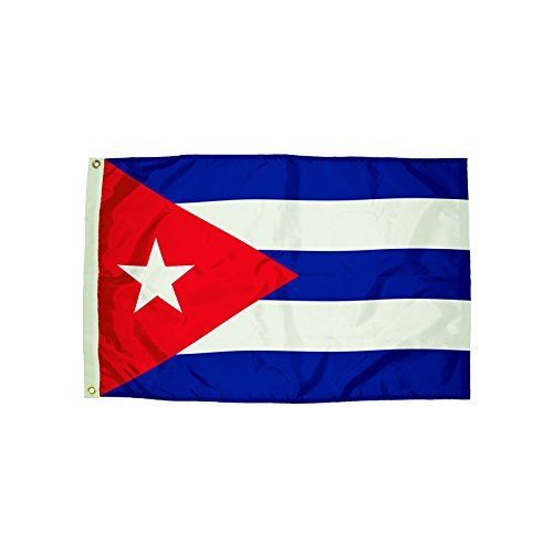 3x5' Cuba Nylon Flag - All Weather, Durable, Outdoor Nylon Flag - All Star Flags by All Star (Cuba Nylon)