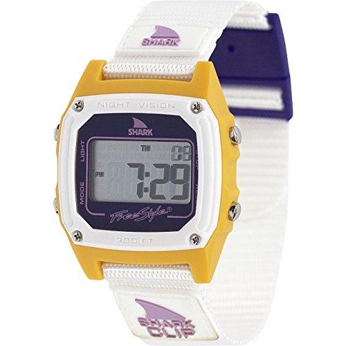 Freestyle Shark Classic Clip Peach N Purple Unisex Watch FS101010