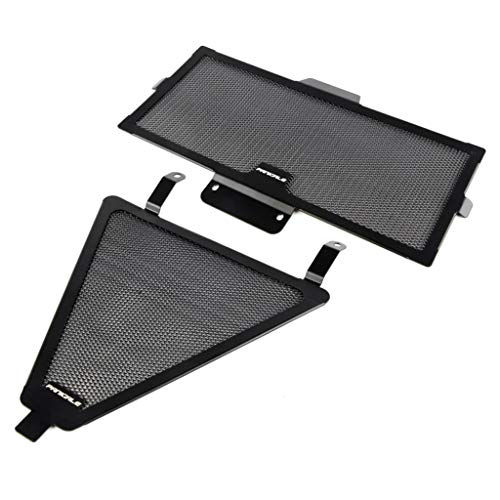 Star-Trade-Inc - Motorcycle Grille Radiator Cover Oil Water Cooler For Ducati 899 959 1199 1299 Panigale R/S -