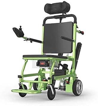 Silla de Ruedas eléctrica para Subir escaleras de Coches - Silla de Ruedas portátil para Ancianos discapacitados de la Marca MJ, Transporte de escaleras Arriba y Abajo, Herramienta de Viaje