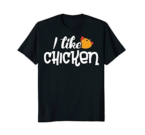 I Like Chicken T-Shirt - Shirt with Funny Fun ()