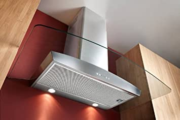 Broan 36 in. Chimney Style Glass Range Hood Stainless Steel
