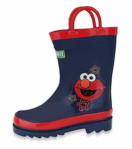 [Sesame Street Purple Kids Rain Boots - Size 4 Toddler] (Next Kids Boots)