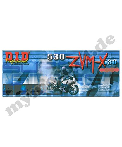 17-38-110 DID530ZVM-X G/&G 4PU Bj.1996 Niet DID Kettensatz Stahl Yamaha XJR1200 //SP 530