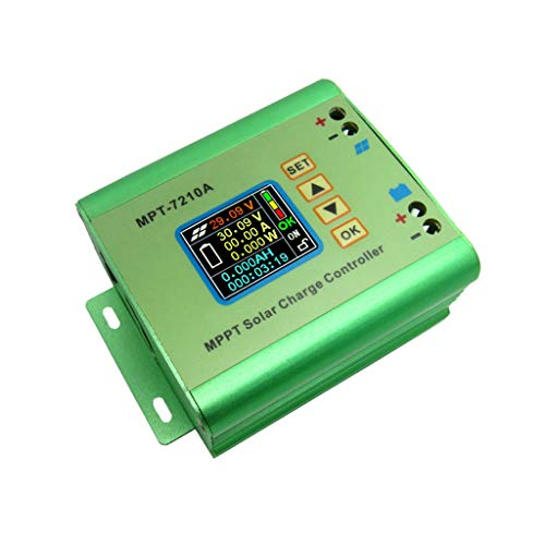 Eiowords 2019 Green for LCD MPPT Solar Regulator Charge Controller 10A 60V DC-DC Boost