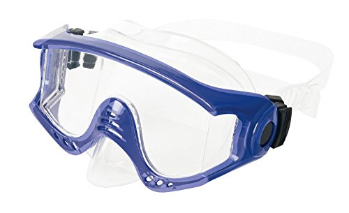 Body Glove Halo Adult Dive Mask, Blue, Medium ()