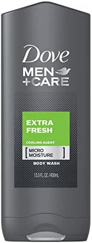 Dove Men+Care Body and Face Wash, Extra Fresh 13.5 oz
