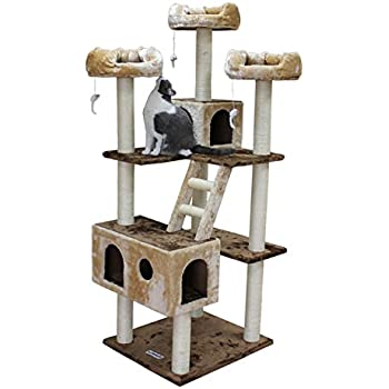 Amazon Com Cozycatfurniture Tall Cat Tree Scratching