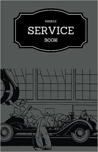 vehicle service book grey maintenance log template car service