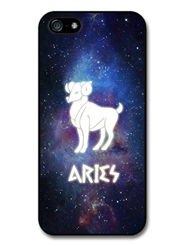 Cool Starsign in Space With Aries Design Illuminated Symbol case for iPhone 5 5S