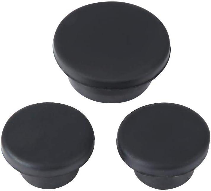 3 pezzi Spina di gomma portellone Ruota di scorta per pneumatici Elimina per 2007-2018 Suuonee Spina portellone posteriore