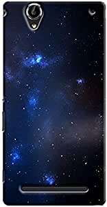 Cover It Up - Star Cloud Blue Space 03 Sony Xperia T2 Ultra Hard Case