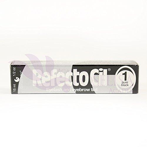 RefectoCil Eyelash and Eyebrow Tint (15ml) (Pure (Black Lash Tint Black)