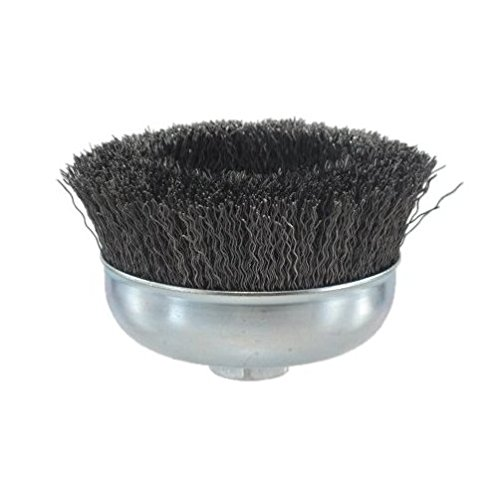 Pearl Abrasive CLWBC558 Crimped Cup Wire Wheel with Tempered