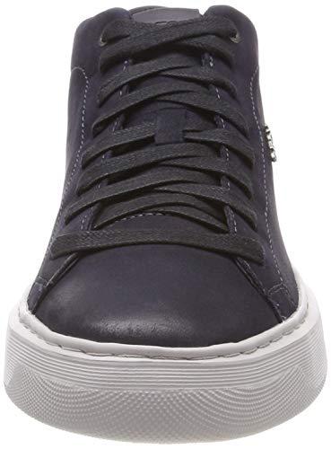 Geox Sneaker Blu Navy Alto Collo a A C4002 U Deiven Uomo tqf8z4tr