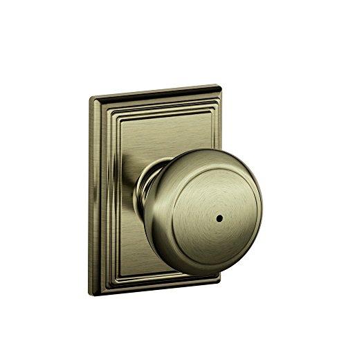 antique brass door knobs - 8