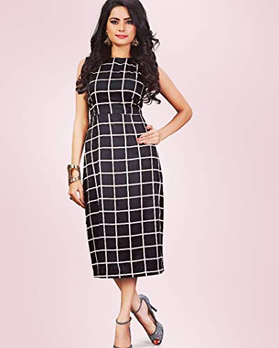bb2f74fafb2 Diego Women S Black Dresses  Amazon.in  Clothing   Accessories