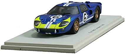Ford Mk2 n.6 Le Mans 1966 Resin Model Car in 1:43 Scale by Spark S5182