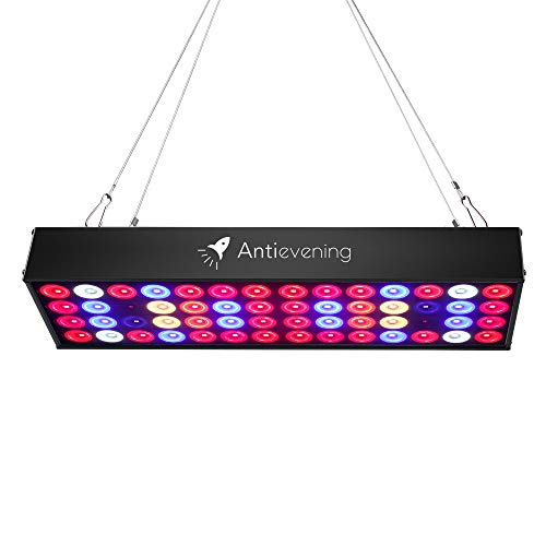 36W Full Spectrum LED Grow Light with UV & IR,No Noise Led Grow Light Bulb with Daisy Chain for Indoor Plants.Cool When Running,Energy-efficient,Works for All Stages by Antievening (Image #9)'