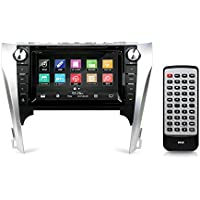 Pyle 2012 Toyota Camry Double DIN Stereo Receiver, GPS Navigation, Bluetooth, 8'' HD Touchscreen Display, CD/DVD, Factory OEM Replacement, Plug-and-Play Direct Fitment Radio Headunit (PTOYCAM12)
