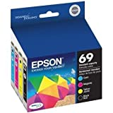 Epson T252520 DURABrite Ultra Standard-Capacity Color Ink Cartridge, Multipack (C/M/Y - 252)