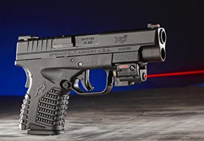 Slim Compact Universal Laser Sight by Arma Laser - SR2 Stingray for Weaver Picatinny rails on Compact & Sub-Compact Pistols: Glock, H&K (not USP), Ruger, S&W (not Sigma), Taurus, Walther, 1911, Springfield, Beretta Compact Pistols with Rails from ArmaLase