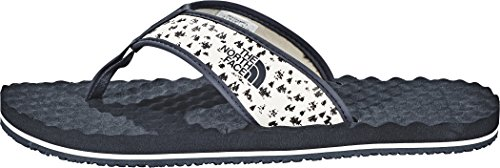 The North Face Base Camp, Chanclas para Hombre Vintage White/Urban Navy