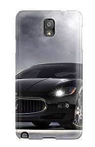 Scratch Free Phone Case For Galaxy Note 3 Retail Packaging Maserati Granturismo 20