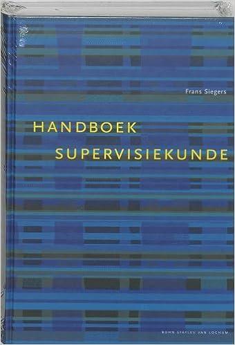 Handboek supervisiekunde.