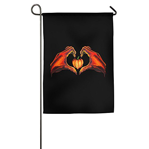 [FWOVDS I Love Pumpkin Garden Flag 1218 Inch / 1827 Inch] (Welcome To The Black Parade Costume)