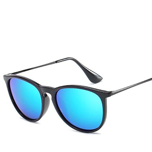 Sunglasses Light Vintage Legs Universal Sunglasses,Sand black box white ()