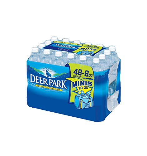 Deer Park Natural Spring Water (8 fl. oz. bottles, 48 ct.) -