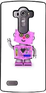 Funda para LG G4 - Lindo Robot De Juguete De Color Rosa by Carsten Reisinger