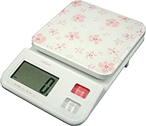 DRETEC Kororo digital scale Pink KS-221PKCO