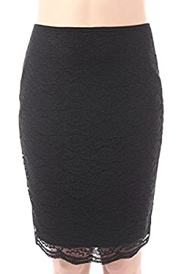 phistic Women's Chrissy Lace Pencil Skirt