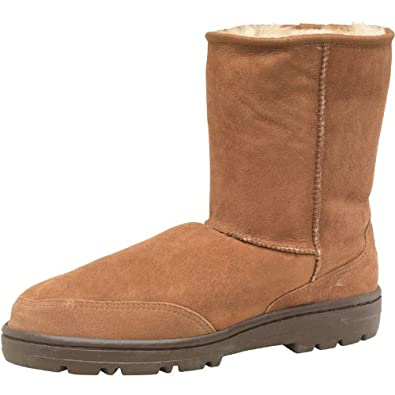 c56755e6ecd Ugg Mens Ultra Short Classic Boots Chestnut - 6: Amazon.co.uk: Clothing