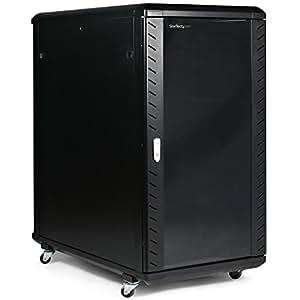 StarTech.com 22U 36-Inch Knock-Down Server Rack Cabinet with Caster Computer Case RK2236BKF