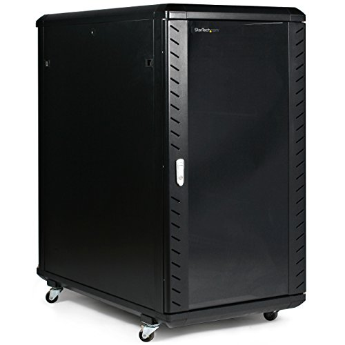 Startech Com 22u 36in Knock Down Server Rack Cabinet With