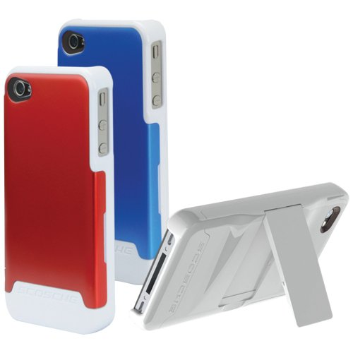 Scosche IP4K2L2V Polycarbonate Case with Interchangeable Backs for iPhone 4/4S - Verizon and AT&T