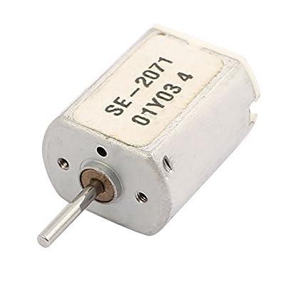 eDealMax DC 3-4.5V 18000rpm par grande micro de la vibración del motor eléctrico